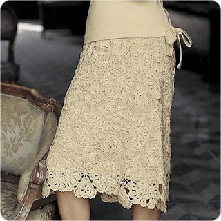 Crochet Skirt : Crochet Skirt Pattern All About Sewing Knitting and Crochet