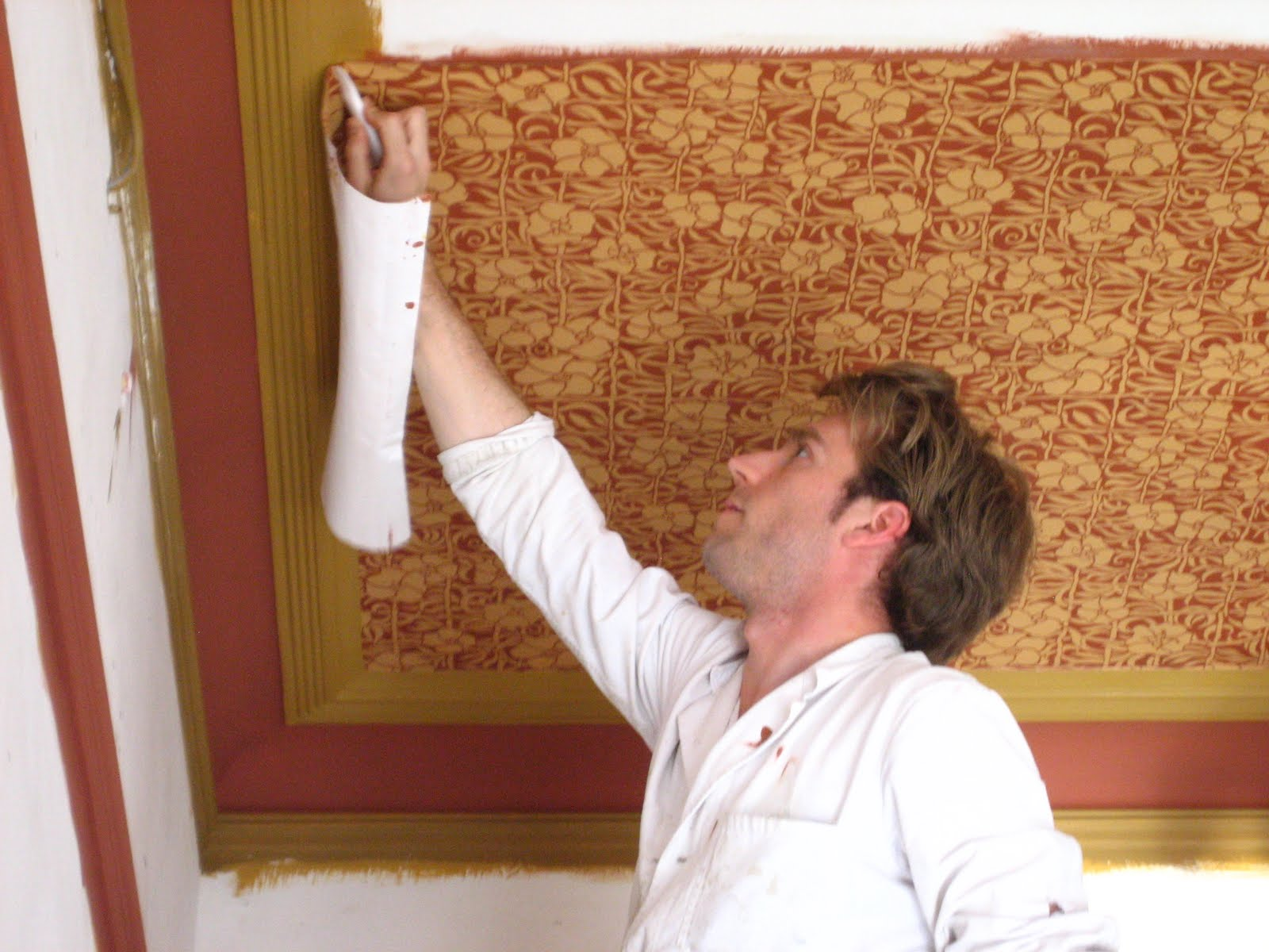 papier peint imitation brique loft dijon particulier cherche artisan pour travaux technique. Black Bedroom Furniture Sets. Home Design Ideas