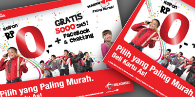 Kartu AS Gratis 5000 SMS