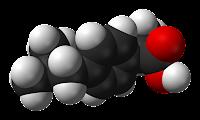 La molécule de l'ibuprofène