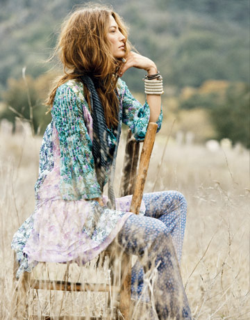 Lisa Byrd Thomas Hip Fashion Stylist Hippie Style Inspiration Photos