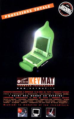 pubblicità Keymat