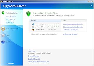 Javacool SpywareBlaster 4.2