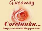 @7 feb : Giveaway Coretanku