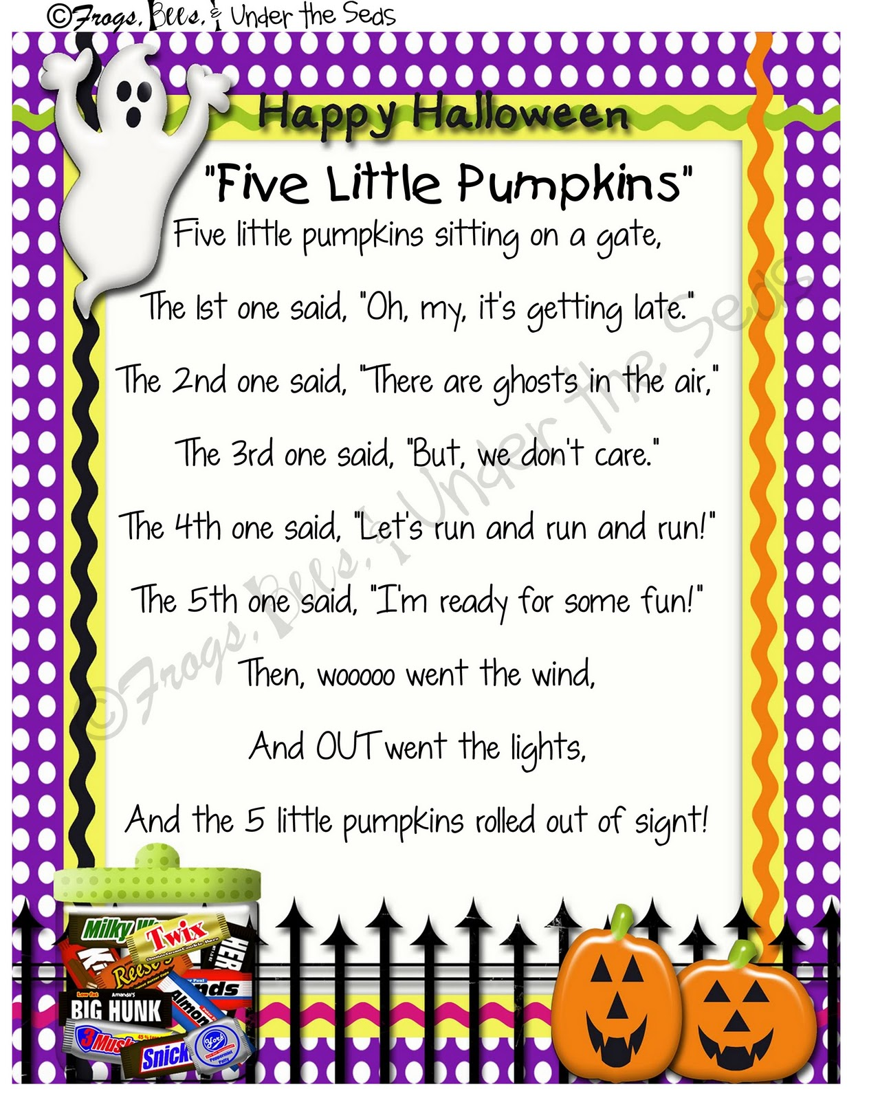 photo regarding 5 Little Pumpkins Printable known as Pixie Chicks: Fresh Inside of the Retailer: 5 Minimal Pumpkins