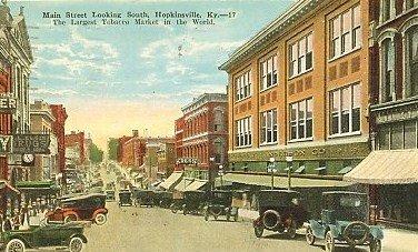 Hopkinsville, Main Street, 1920
