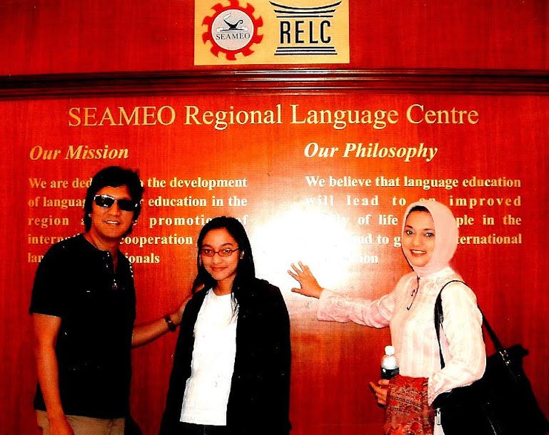 Mempersiapkan Bella Fawzi dengan Bahasa Inggris Terbaik di RELC Singapura
