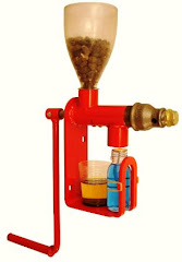 Jatropha oil press