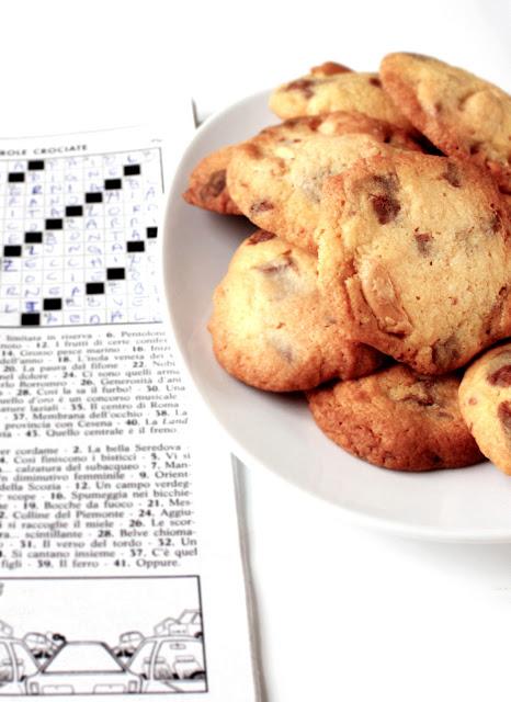 biscotti spagnolette e cioccolato