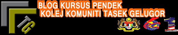 Blog Kursus Pendek Kolej Komuniti Tasek Gelugor