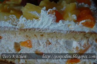Articole culinare : Tort diplomat cu fructe