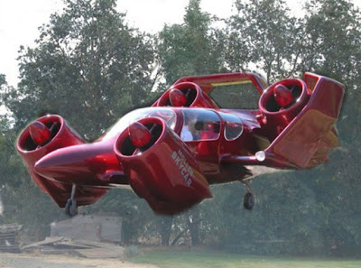 Moller M400 Skycar: 375mph Car/Plane to Hit The Roads, Skies.