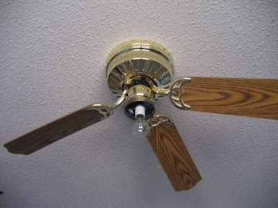 notice that this ceiling fan is not only missing a blade but it s