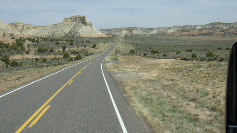 Road Going to Kodachrome Basin