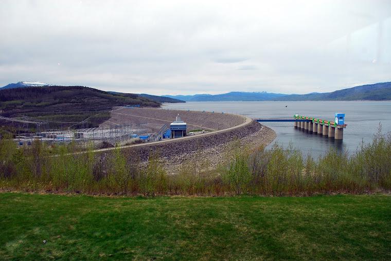 W.A.C. Bennett Dam in BC