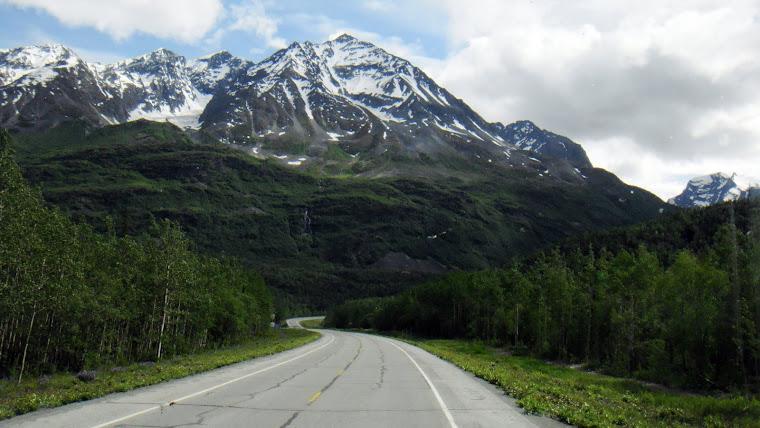 Richardson Highway to Valdez, Alaska