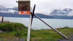 Idarod Sign at Mile 0 (Start of the 938 Mile Route From Seward to Nome)