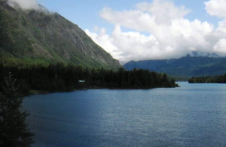 Scene Along Seward Highway