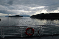 Coming Into Juneau on the Ferry