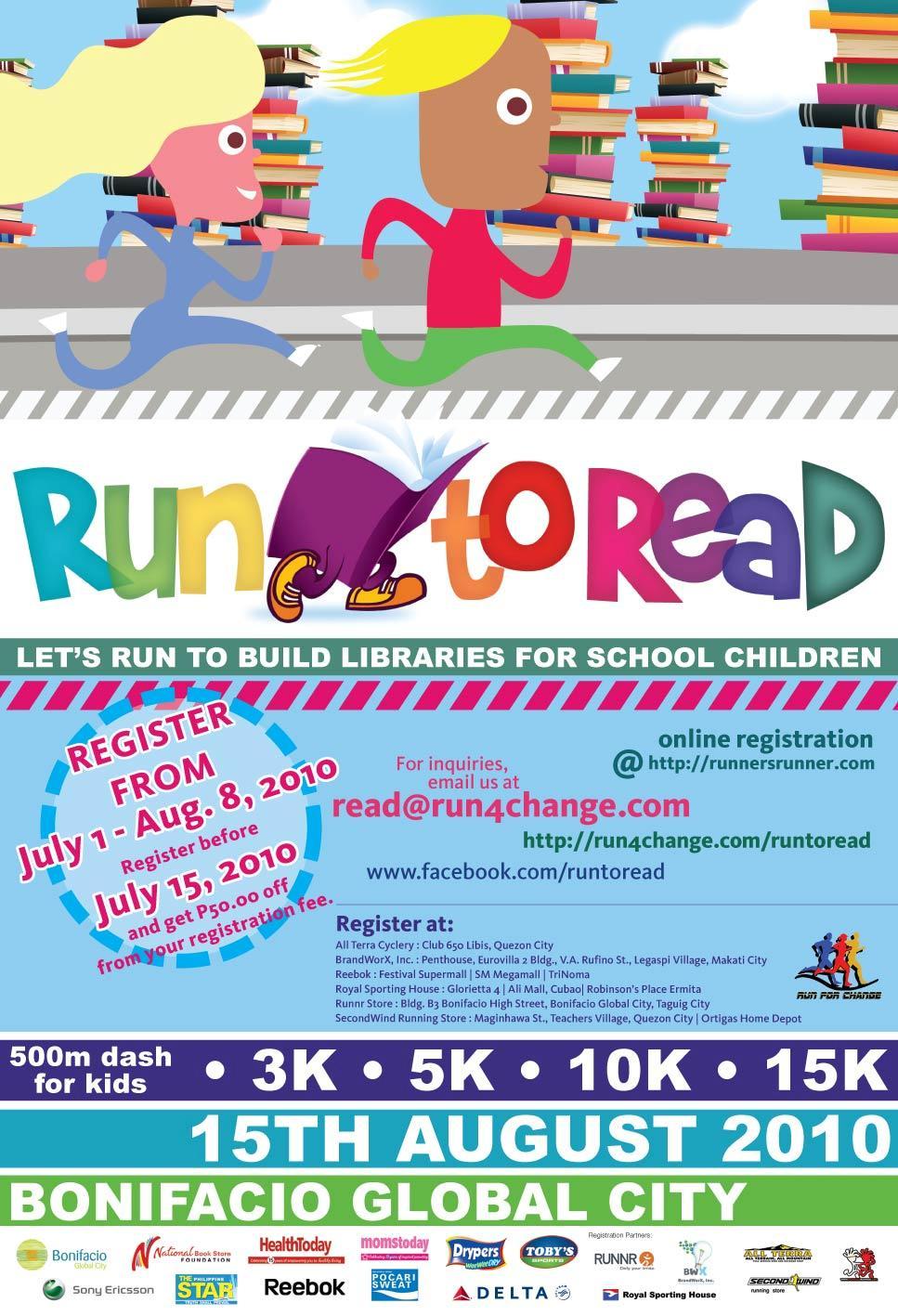 run to read 2010 | runnerishi