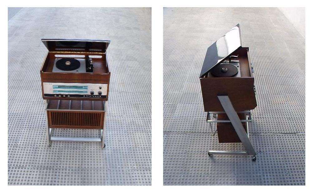Gancemania mobiliario siglo xx y l mparas fase interior designers tocadiscos telefunken a os 70 - Mueble para tocadiscos ikea ...