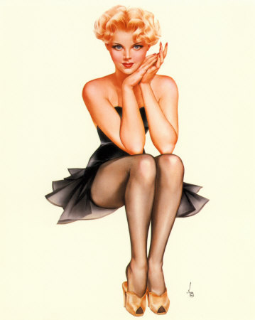 Classic Pinup Poses for Victoria Part 1. Click main image for larger view