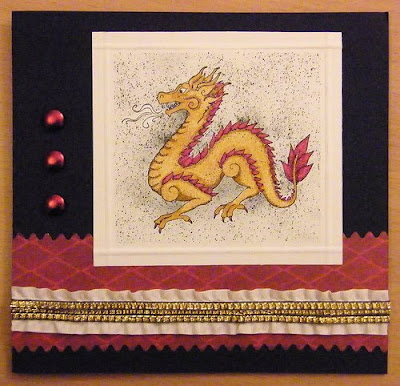Lunar New Year Dragon Postcards