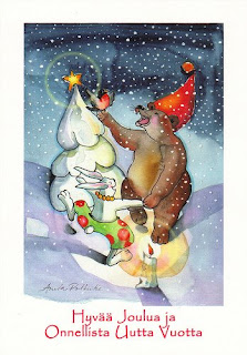 Merry christmas and new year charity cards