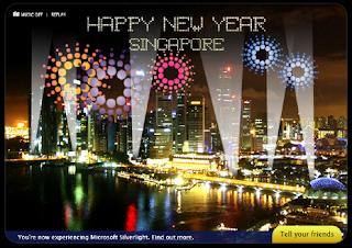 New Year Countdown Card