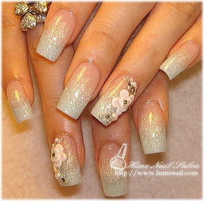 disenos de unas. Diseños de uñas para novias en