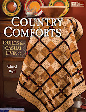 NOW ON SALE! My first book, now in its THIRD printing!  Woo-hoo! Order at www.countryquilts.ca!