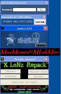 Cheat New Point Blank 25112010[SPE, Rinicom2.3,  X-LONZ, Zenix, BenZKiller, MbaMini, Akira Chan,]