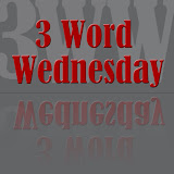 I participate in Three Word Wednesday