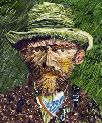 Van Gogh Self-Portrait Illusion