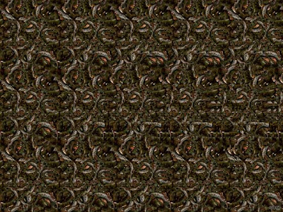 Horse Illusion - 3D Stereogram