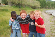 Kyle, Grayson, Jamen & Isaac