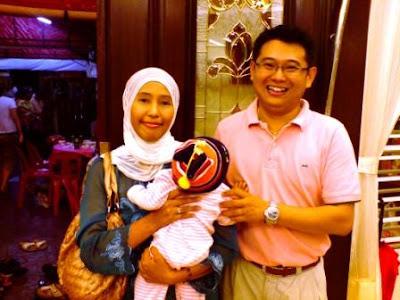 Ecah n Alya with Kok Siong