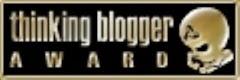 """Premio al """"blog que me hace pensar"""""""