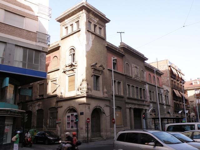 Labrujulazularte sede manifesta 8 edificio de correos y tel grafos de murcia - Oficina central de correos barcelona ...