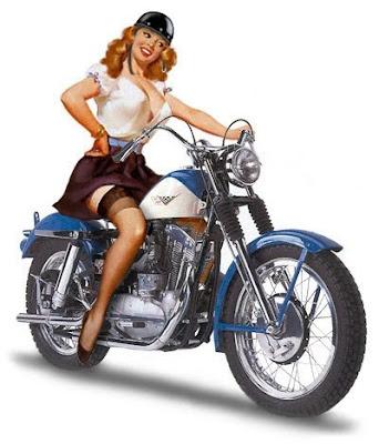 pin up a moto
