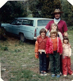 Dad, Brother Jody, some cousins, and me!