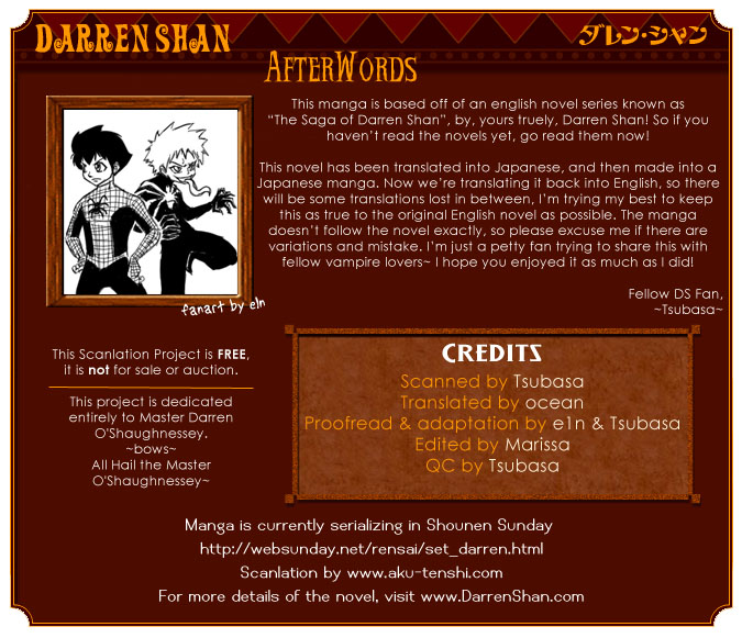 Darren Shan - Gánh xiếc quái dị Chap 1 - Truyen.Chap.VN