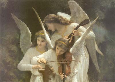 Angel Playing Violin