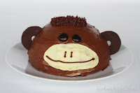 Monkey Cake and Cupcakes