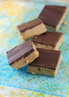 Reese's Peanut Butter Bars {No Bake!}