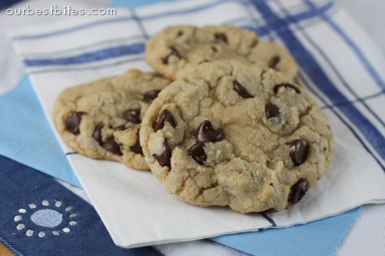 Chewy Chocolate Chip Cookies Cooks Illustrated from Ourbestbites.com