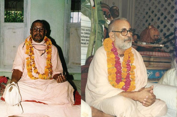 Srila Bhaktivedanta Vamana Gosvami Maharaja & Srila Bhaktivedanta Narayana Gosvami Maharaja