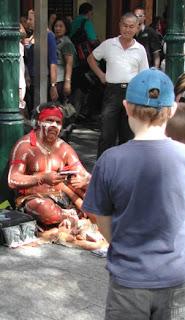 Aboriginal Busker