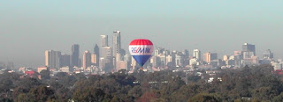 Balloons over Brisbane