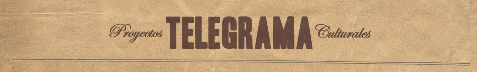 Telegrama Cultural